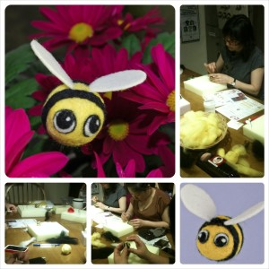 bumblebee collage